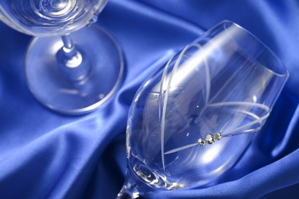 ハートインハート ワイングラス
