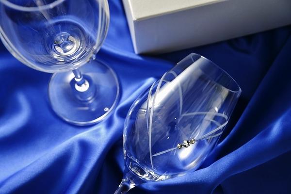 ガラス彫刻工房ONO 人気NO.1ワイングラス
