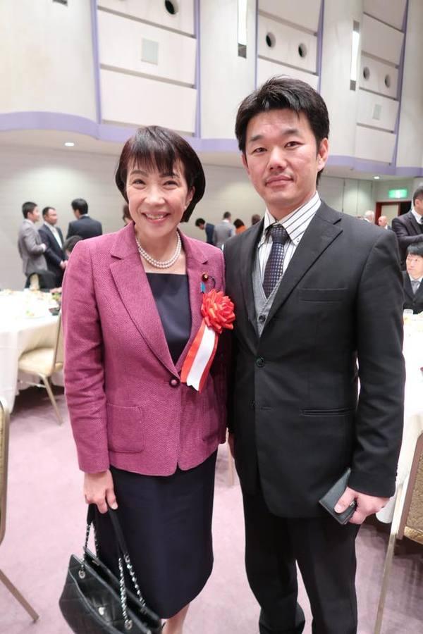 奈良県香芝市商工会で高市早苗衆議院議員にお会いしました。