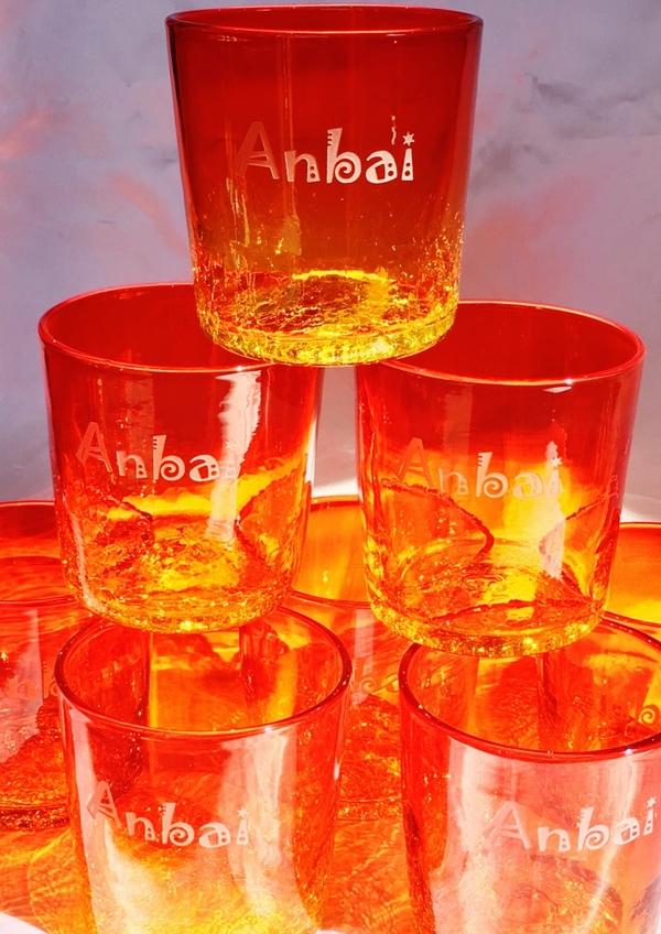 会社の設立記念の記念品に琉球ガラスをプレゼント!!