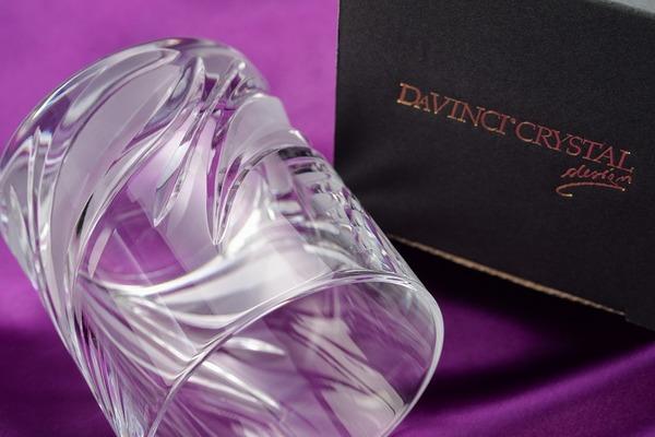 バレンタイン特集その2 『ダ・ヴィンチクリスタル』 いつもお世話になっているあの人に高級グラスをプレゼントしませんか。