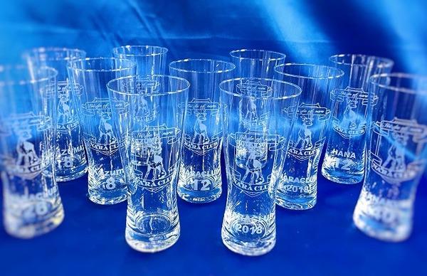 【新商品】奈良クラブ 承認グラス