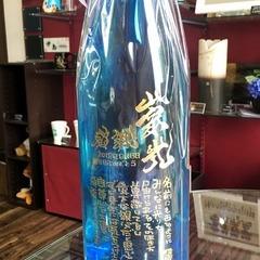【ボトル彫刻】誕生日プレゼント