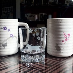 【蒼乃かなた。】ネコちゃんオリジナルグラス・ビアマグ