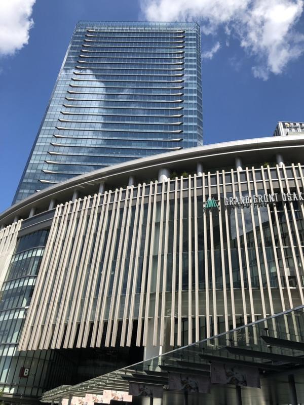 朝から打ち合わせです inグランフロント大阪