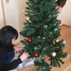 我が家もクリスマスツリー