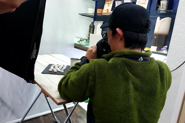 母の日撮影@信楽焼&香芝産米粉クッキー