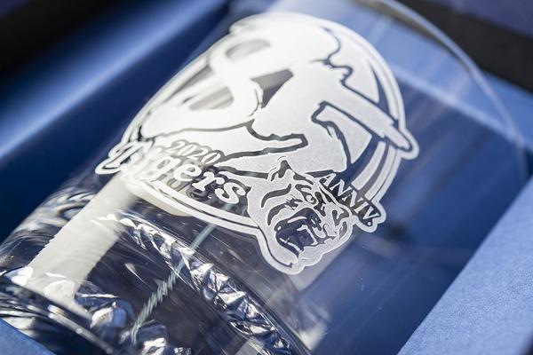 阪神タイガース 85周年グラス