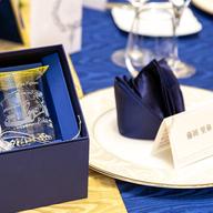 結婚式の席札グラス♪