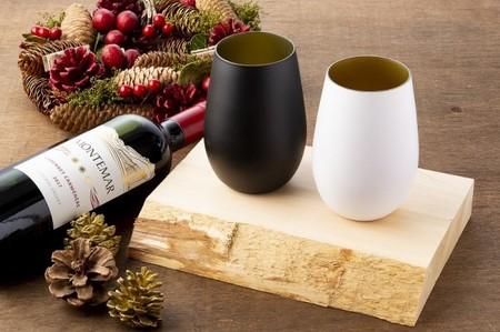 ドイツ製 シュトルツル メタル タンブラー グラス 木箱入り 単品 プレゼント 敬老の日