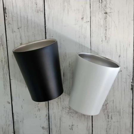 名入れ 彫刻 ステンレス タンブラー ペア 木箱入り 保冷 保温 真空 プレゼント モノクロ 白黒