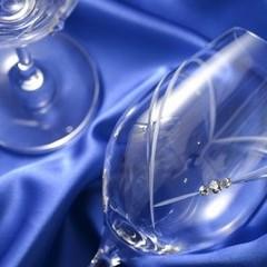 スワロフスキー クリスタル ワイングラス ペア 結婚 引き出物 記念日 誕生日 御祝