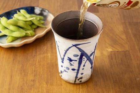 ペア木箱入 名入れ 彫刻 信楽焼 流 フリーカップ 誕生日 プレゼント 還暦 記念日