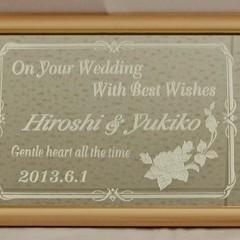 Wedding Welcomeボード 結婚式 ウェルカムボード A3 サイズ
