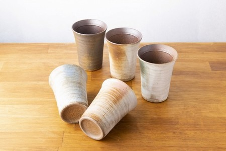 ペア 木箱 名入れ 彫刻 信楽焼 玄 フリーカップ  誕生日 プレゼント 還暦 記念日