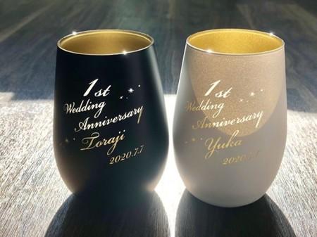 ドイツ製 メタル タンブラー グラス 木箱入り 単品 プレゼント 御礼 御祝 おしゃれ 敬老の日